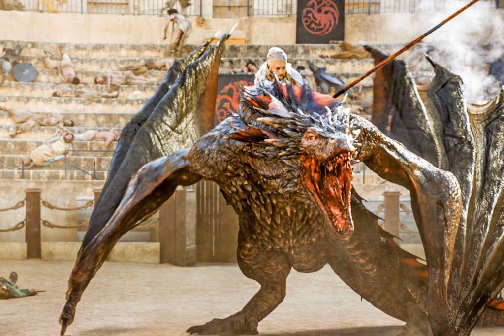 اژدها Game of Thrones