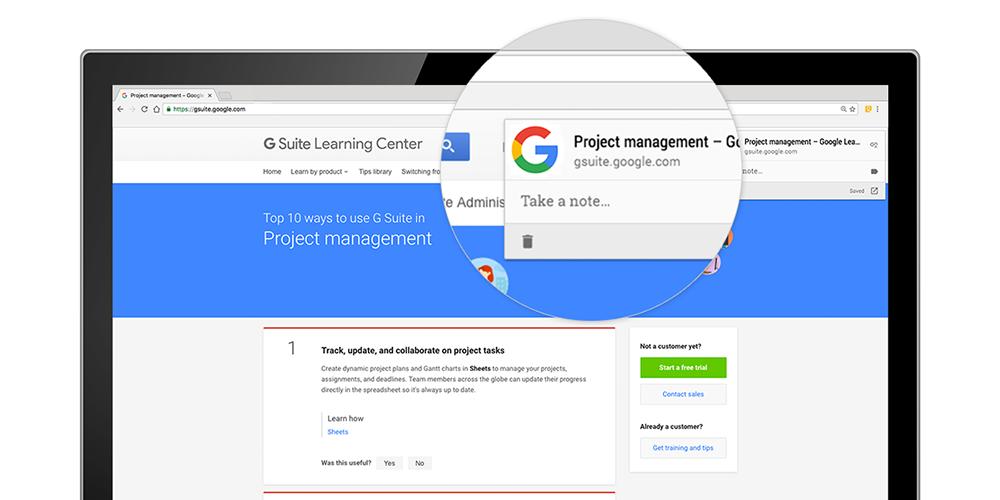 استفاده از اکستنشن کروم برای دسترسی ساده تر به گوگل کیپ