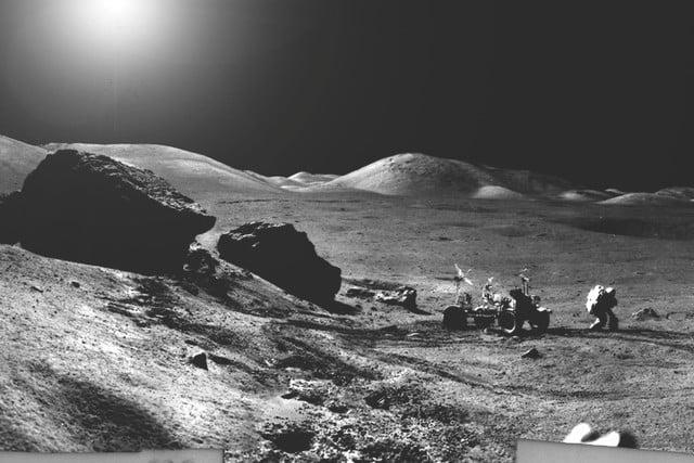خورشیدگرفتگی روی ماه چه شکلی است؟