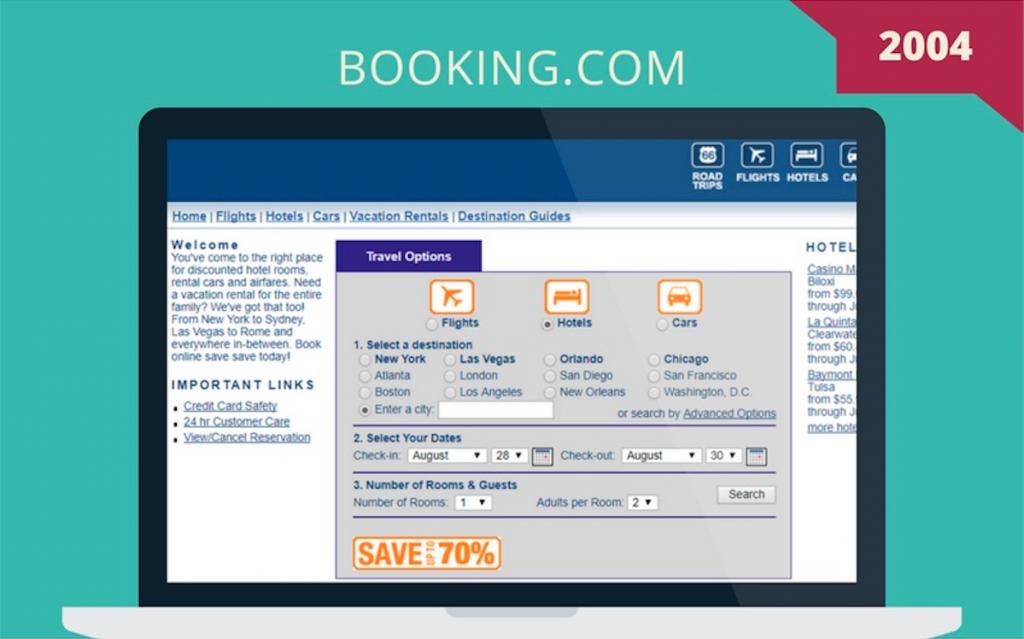 Booking.com 2004