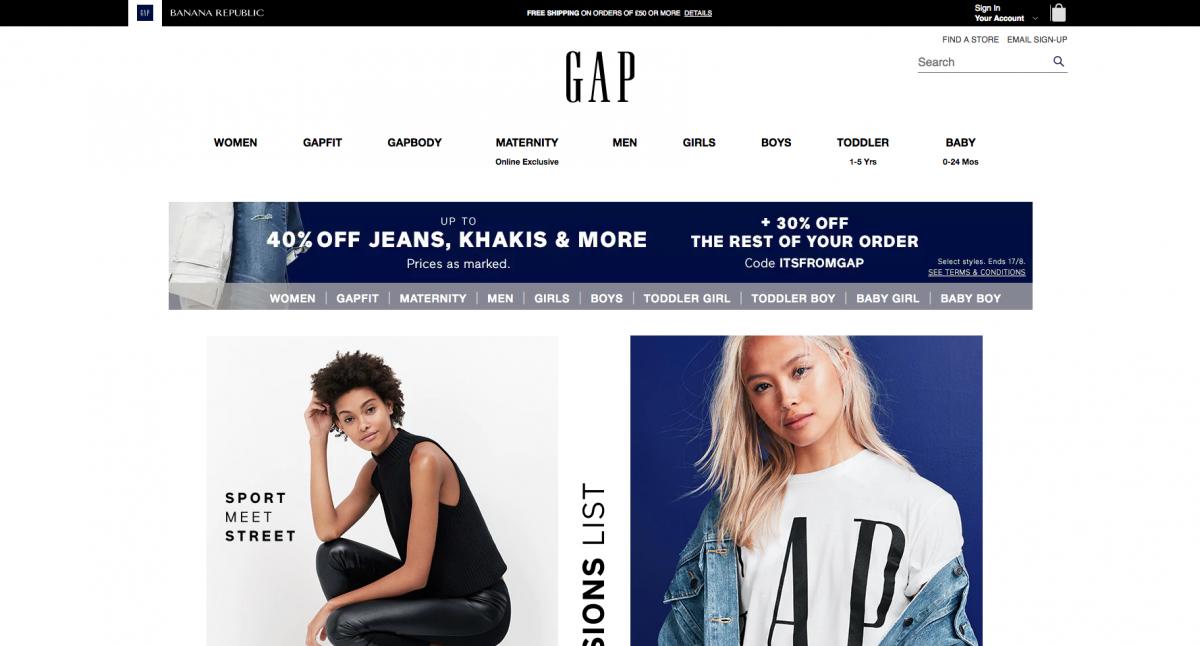 Gap 2017