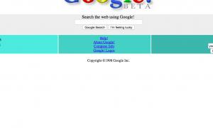 گوگل 1998