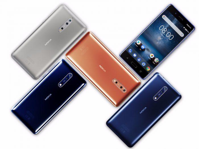 بررسی Nokia 8