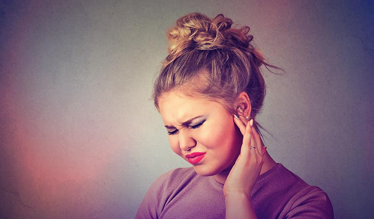 درمان آب رفتن در گوش