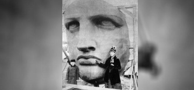 رونمایی از مجسمه آزادی