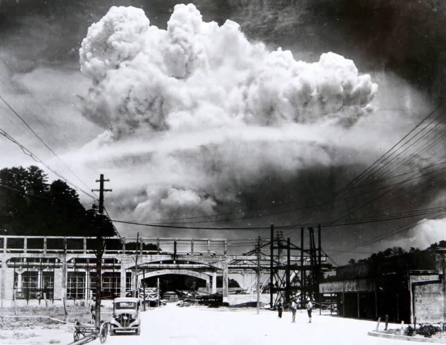 بمب اتمی در هیروشیما و ناگازاکی