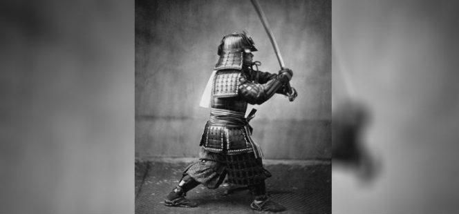 این تصویر در سال ۱۸۶۰ گرفته شده است، یعنی حدود ۱۵ سال قبل از اینکه دولت اصلاحطلب به سنت سامورائی خاتمه ببخشد.