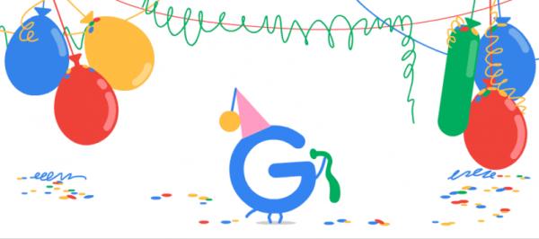 تولد 19 سالگی گوگل