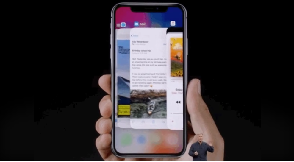 امکان مولتی تسکینگ بدون کلید Home در iPhone X