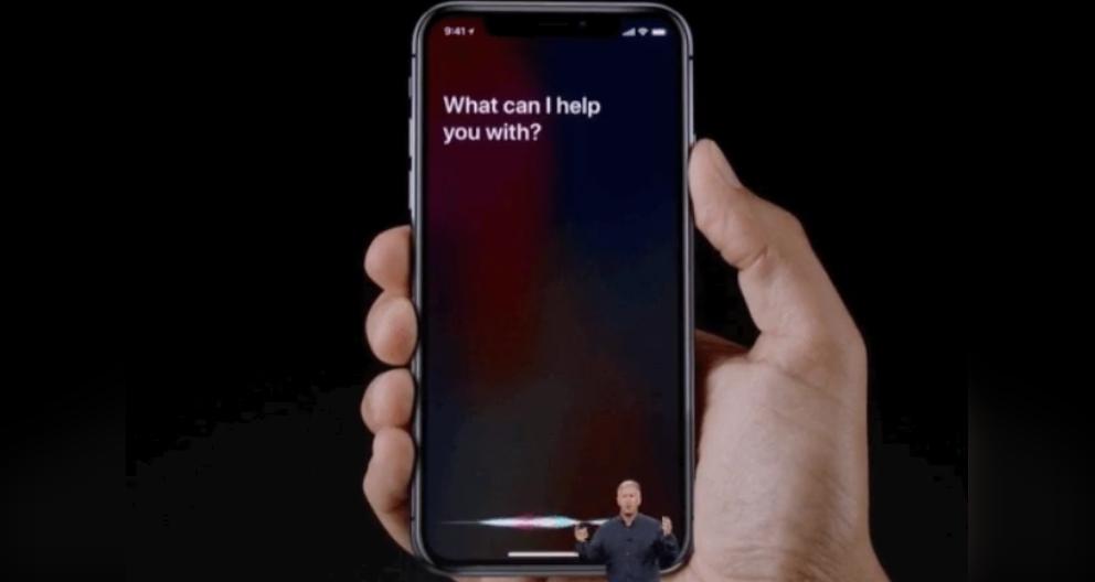 استفاده از سیری بدون کلید Home در iPhone X