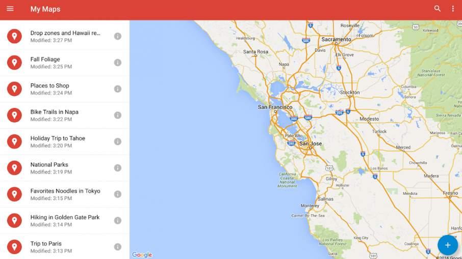 ایجاد نقشه اختصاصی از ترفند های جالب گوگل مپ