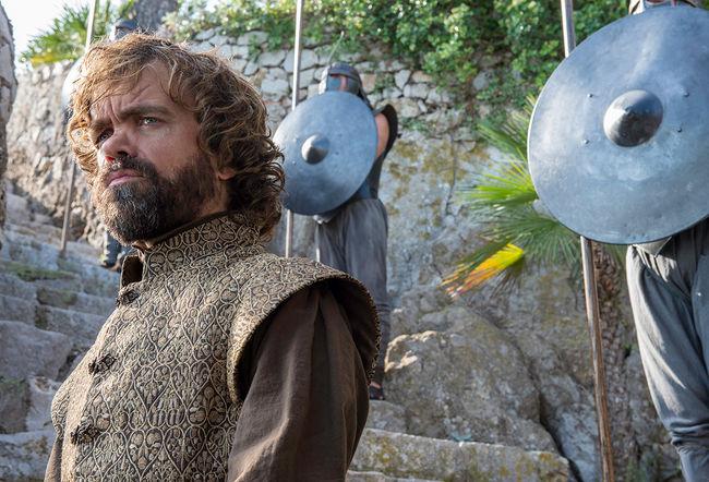 Tyrion Lannister با بازی پیتر دینکلیج