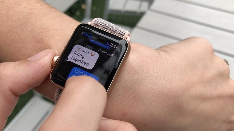 ارسال پیام پس از جفت کردن اپل واچ با گوشی اندرویدی