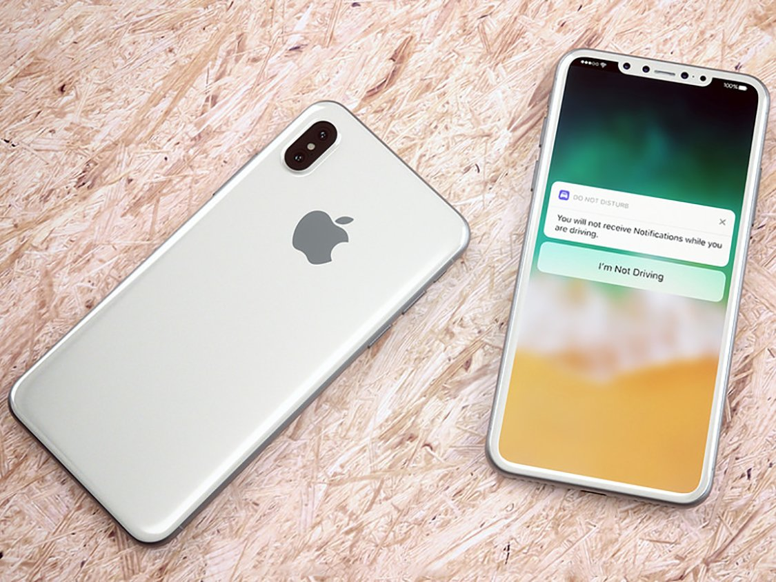 iPhone X with OLED Screen