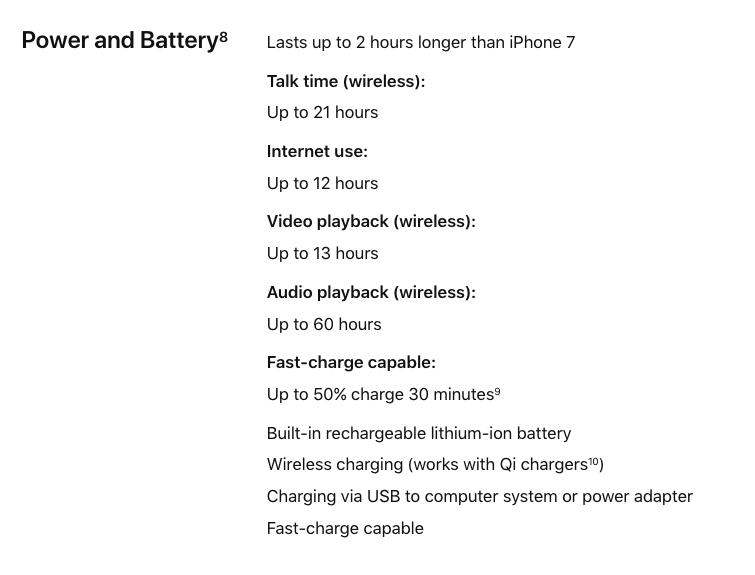 باتری آیفون 8 پلاس