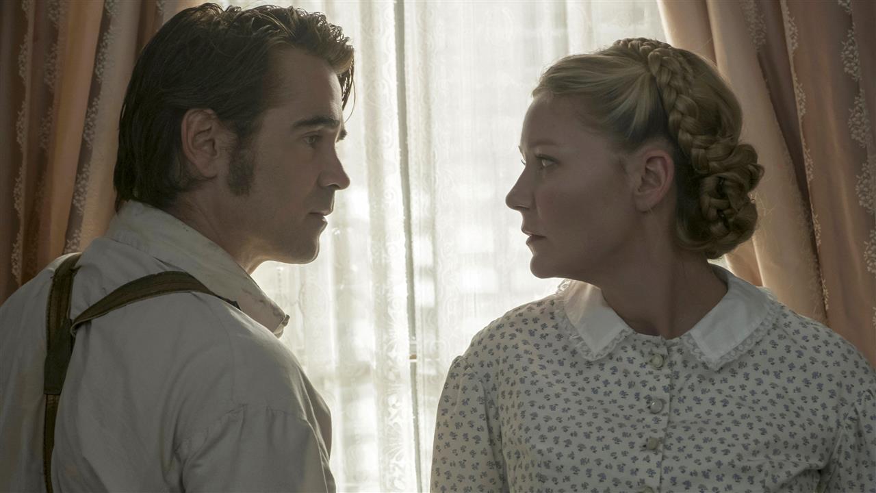 هنرنمایی Colin Farrell و Kirsten Dunst در فیلم The Beguiled