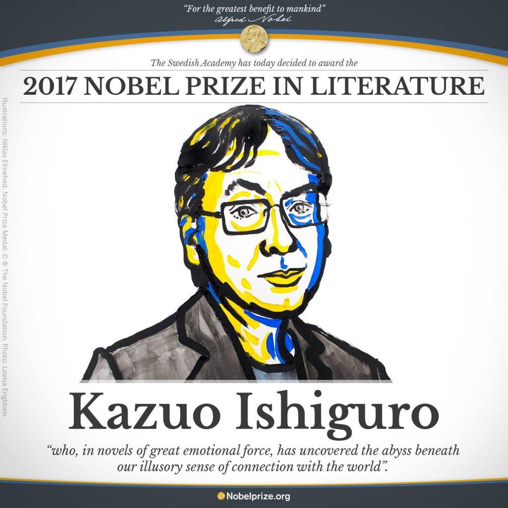 برنده جایزه نوبل ادبیات 2017