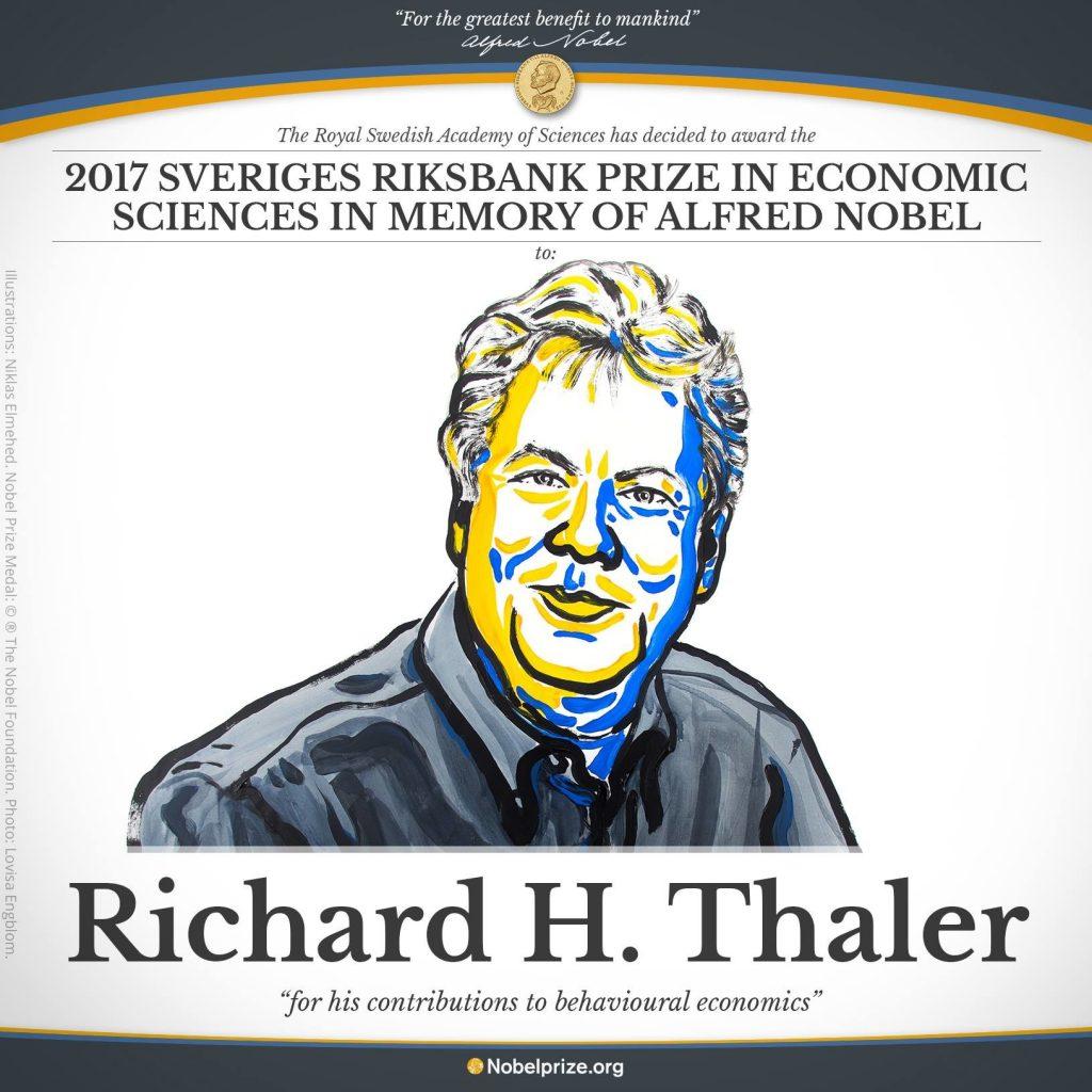 برنده جایزه نوبل اقتصاد 2017