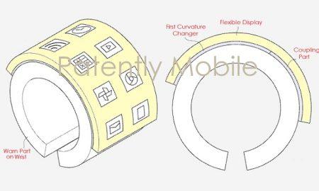 دستبند انعطاف پذیر سامسونگ یک اتفاق جدید است!