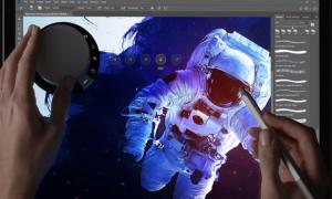 امکان استفاده از Surface Dial در فتوشاپ