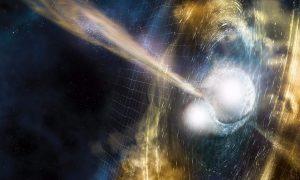 کشف برخورد دو ستاره نوترونی