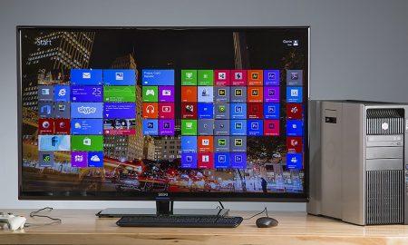 اتصال کامپیوتر به تلویزیون ۴k
