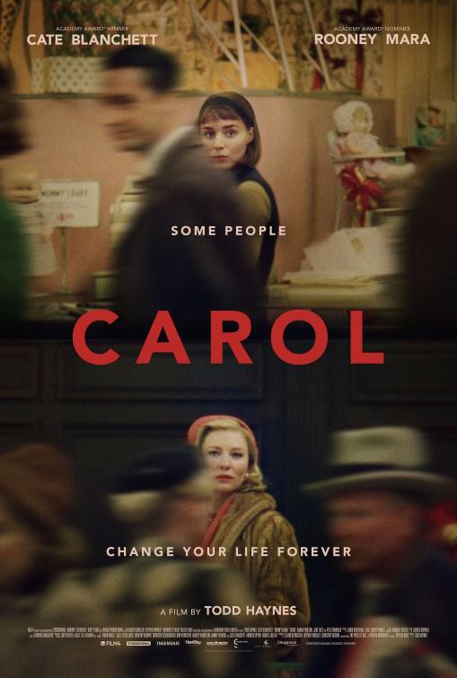 پوستر فیلم CAROL کاری از تاد هینز ۲۰۱۵