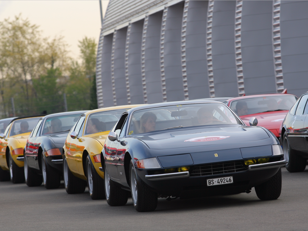 365 GTB/4, GTS/4 Daytona