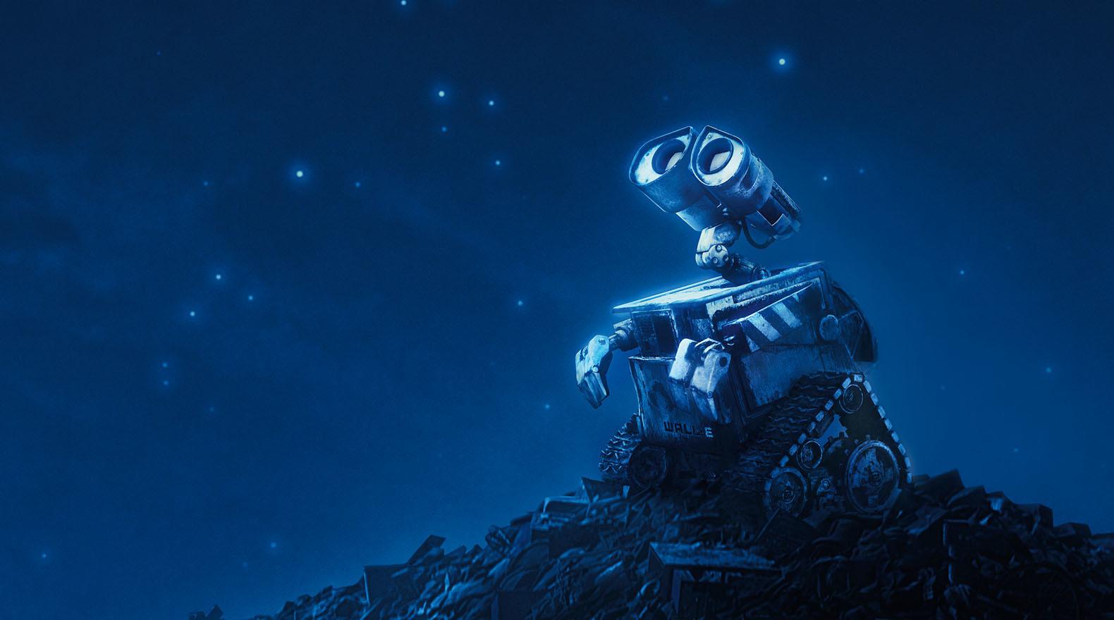 دستاورد انسان در طول سالهای حیاتش در زمین تنها تخریب و نابودی زمین است، روزگاری فرا میرسد که رباتها به کمک انسانهای تخریب کننده میآیند. در این میان WALL-E ربات بیچارۀ قدیمی غژغژ کنانی است که در زمینِ مملوء از زباله تنها مانده است.