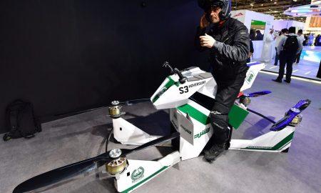 پلیس دبی Hoverbike