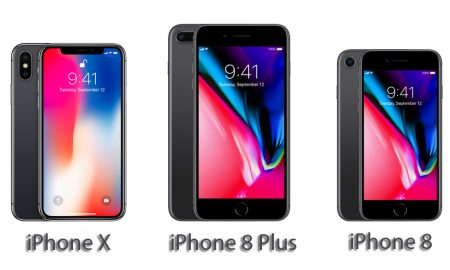 مقایسه iPhone X با iPhone 8 و iPhone 8 Plus