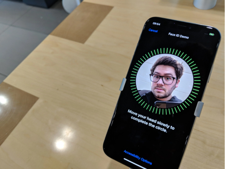 Face ID در آیفون X