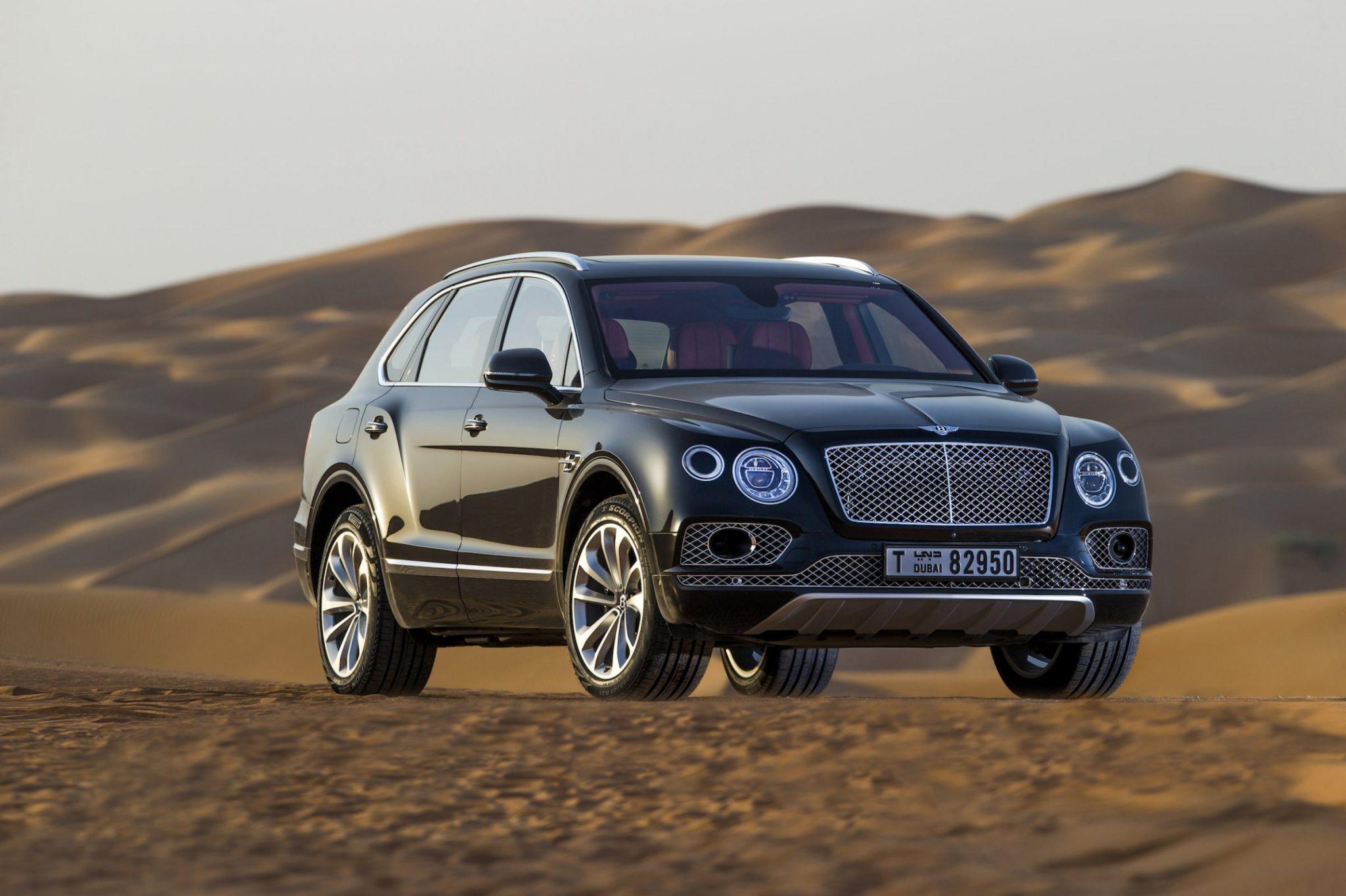 شاسی بلند Bentley Bentayga