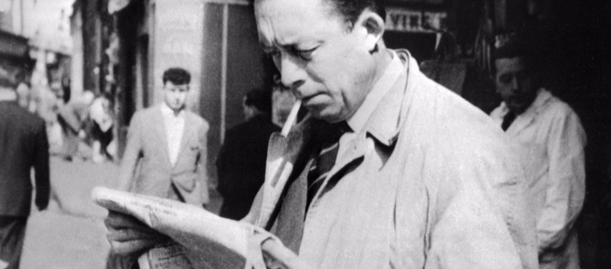 تحلیل رمان سقوط اثر آلبر کامو ۱۹۶۰-۱۹۱۳