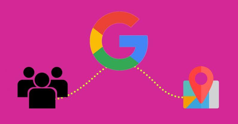 موقعیت کاربران گوگل