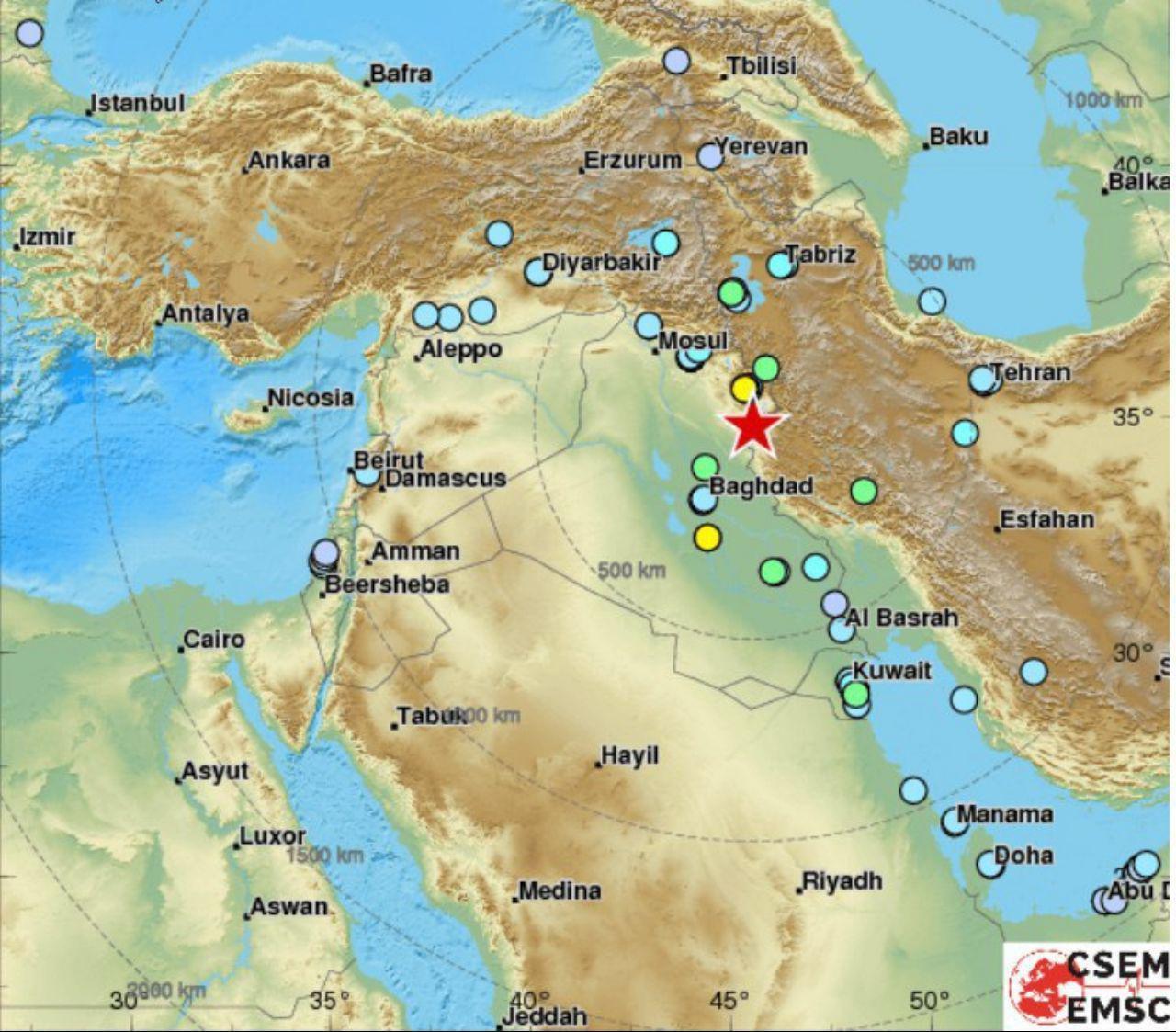 خلاصه گزارش زمین لرزه ۲۱ آبان کرمانشاه