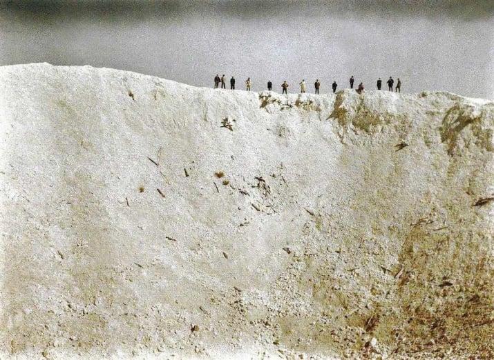 در روز ۷ ژوئن ۱۹۱۷، در طی یک انفجار توسط ارتش بریتانیا، ده ها هزار سرباز آلمانی کشته شدند