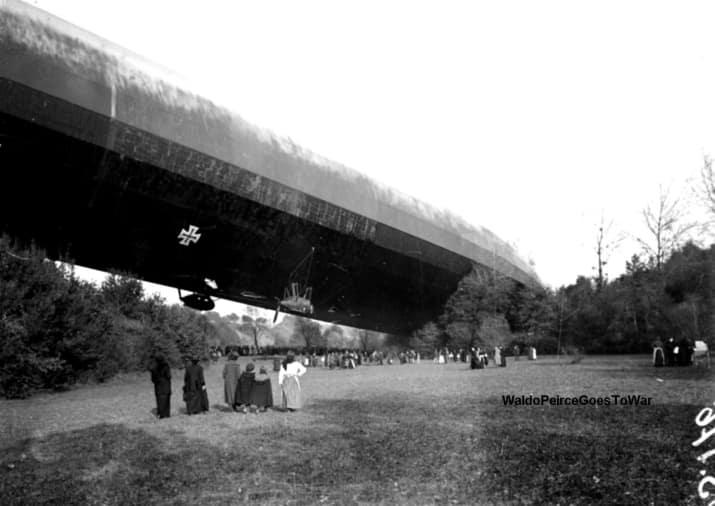 بزرگترین بالن (کشتی هوایی) المان در فرانسه سقوط کرد