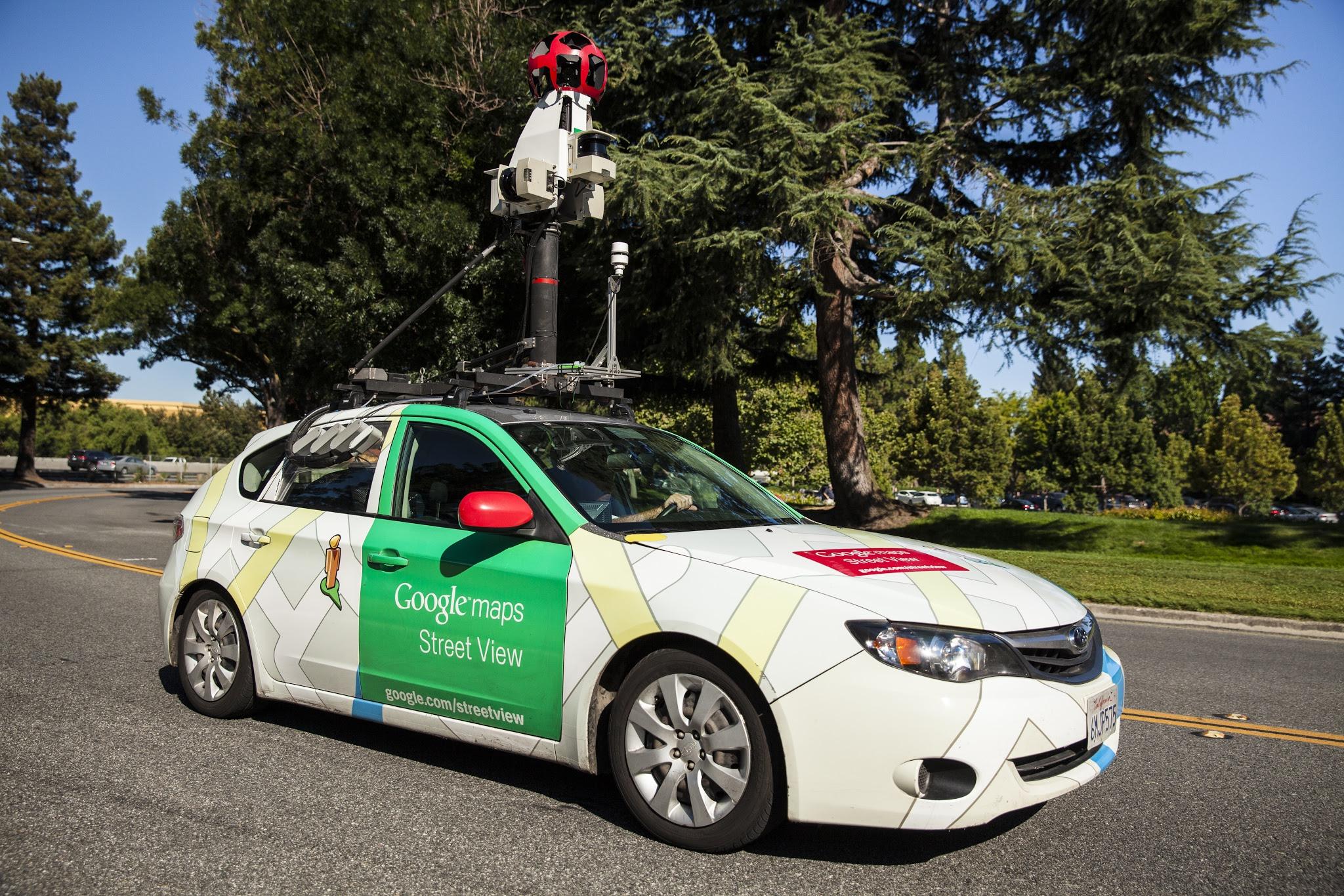 آلودگی هوا در گوگل ارث