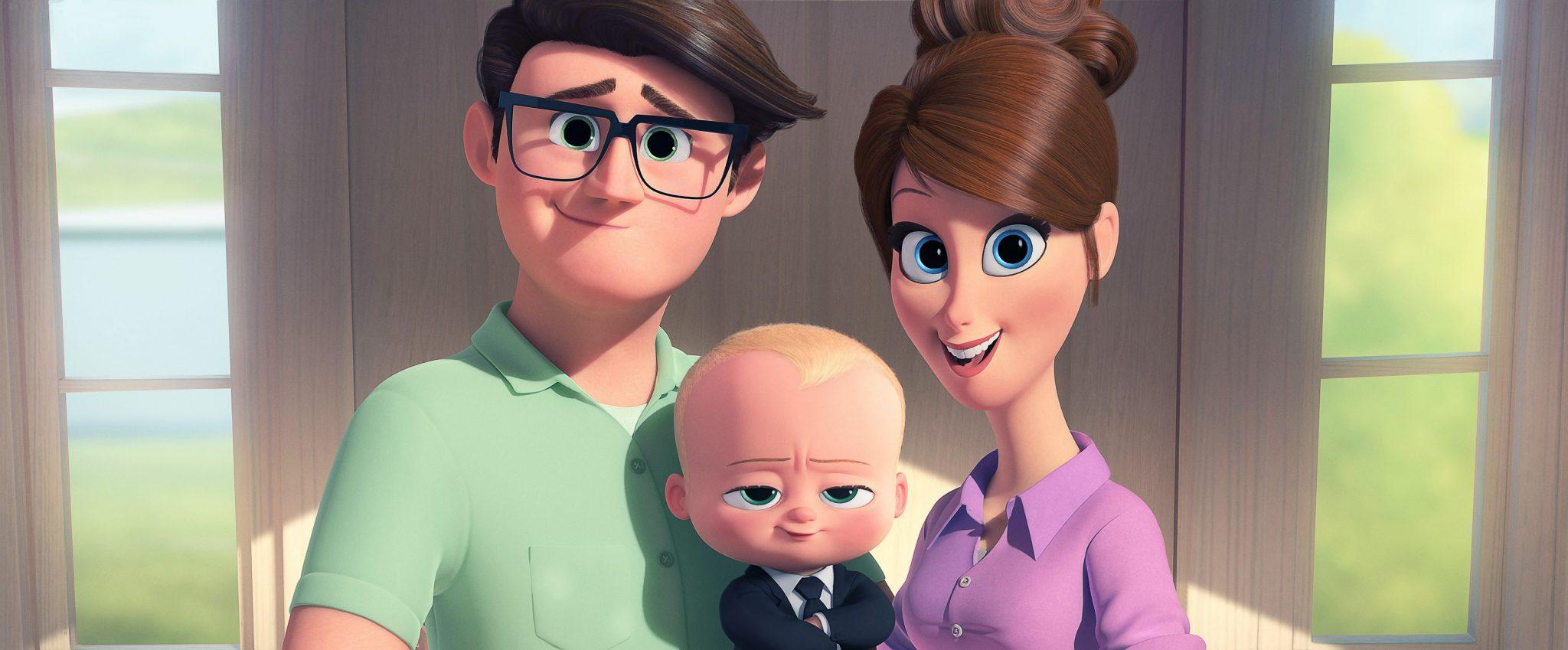 انیمیشن The Boss Baby بچه رئیس محصول 2017