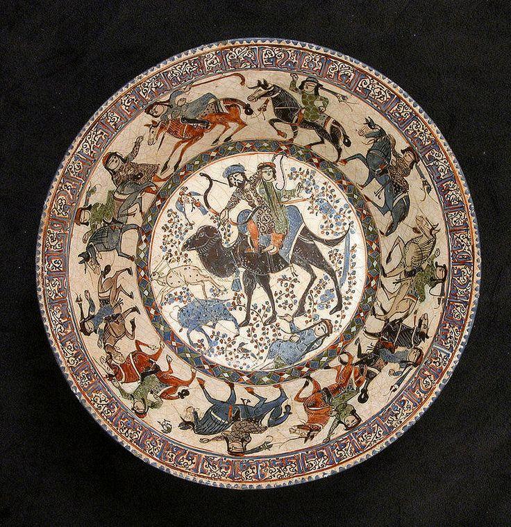 بهرام و آزاده - سرامیک - موزه متروپولیتن