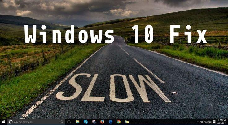 مشکل کندی ویندوز 10 در مرورگر فایل