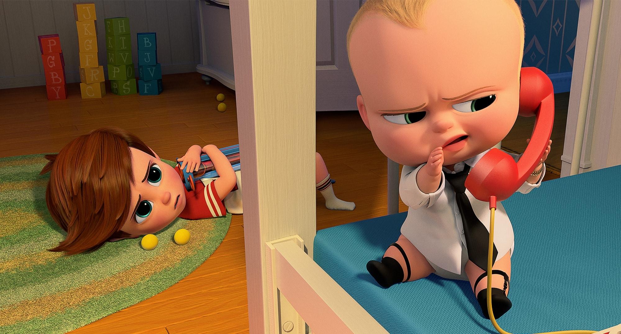 انیمیشن The Boss Baby محصول ۲۰۱۷