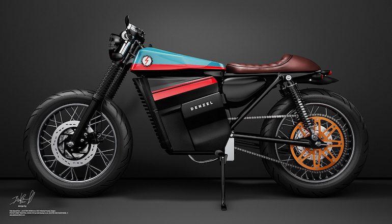موتورسیکلت الکتریکی Denzel
