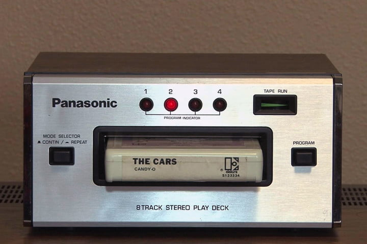 ۸-Track Tape Player - ۱۹۶۰s-1980s تاریخچه سیستم های صوتی