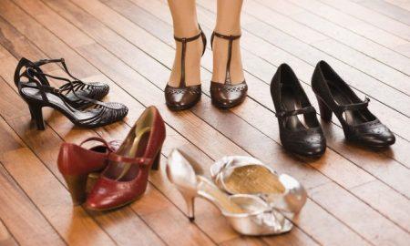 مزایای کفش پاشنه بلند