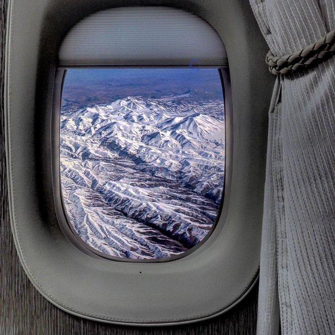 پنجره های مجازی در Boeing 777