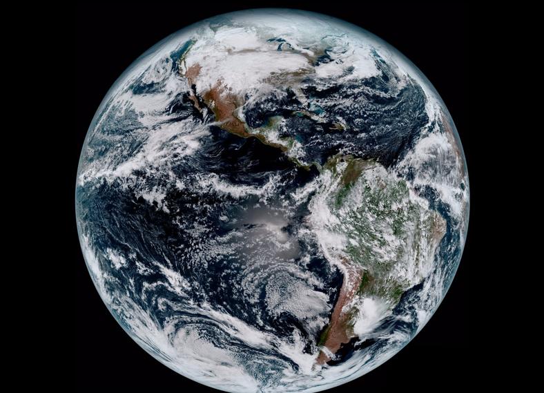 زمین از منظره ایی فوق العاده