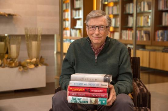 5 کتاب پیشنهادی بیل گیتس در سال 2017
