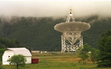 """تلسکوپ """"گرین بانک"""" در ویریجیانای غربی"""